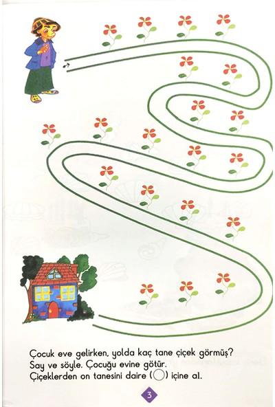 Duru Okul Öncesi Yayınları 4-6 Yaş Matematik Dünyası Kitabı