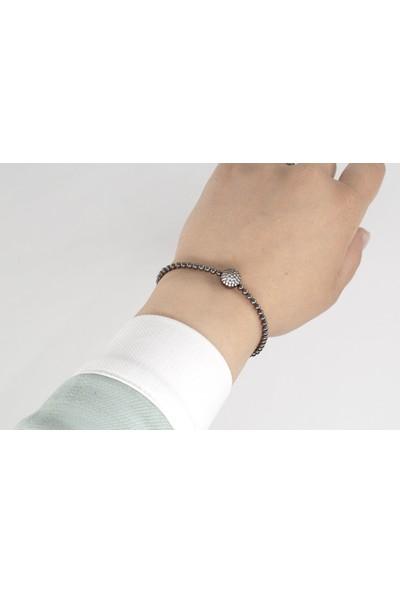 Lili Pırlanta Kadın 925 Ayar Gümüş Swarovski Taşlı Bileklik GMB00012-002