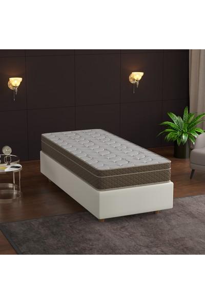 Flora Full , Lux Bambo Kumaşlı Yaylı Yatak 90X200 cm