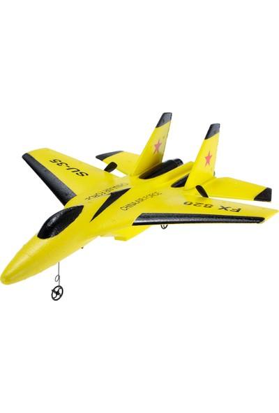 Flybear FX-820 2.4g 2ch Uzaktan Kumanda Su-35 Planör