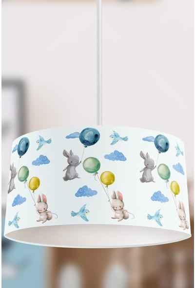Tropik Home Sevimli Maceracı Tavşanlar Çocuk Sarkıt Avize