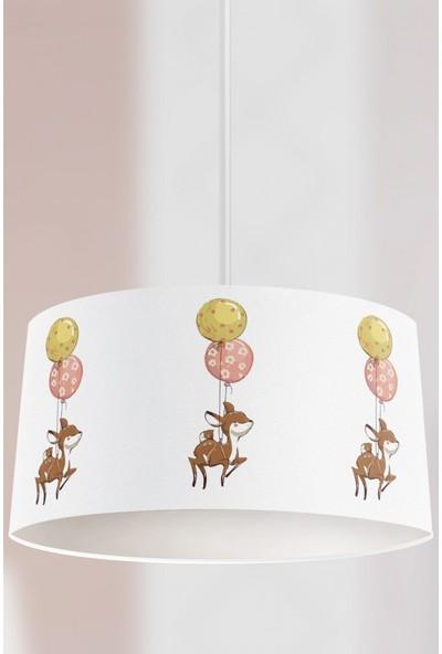 Tropik Home Balonlu Bambi Çocuk Sarkıt Avize