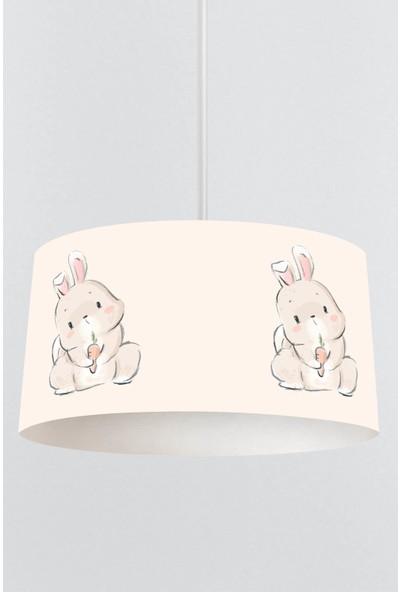 Tropik Home Sevimli Tavşan Çocuk Sarkıt Avize