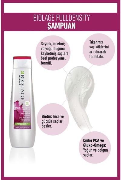 Biolage Fulldensity Şampuan 250 ml + Durulanmayan Bakım Spreyi 125ML Bakım Seti