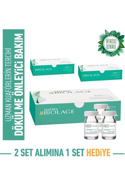 Biolage Aminexil Dökülme Karşıtı Serum 10X6ML x 3 Kutu Bakım Seti