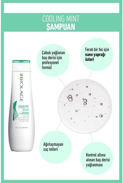 Biolage Scalpsync Cooling Mint Şampuan 250ML + Super Fixer Saç Şekillendirici Jel Saç Bakım Seti