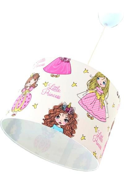 Uyumamy Prenses Barbie Bebek Avizesi Pembe