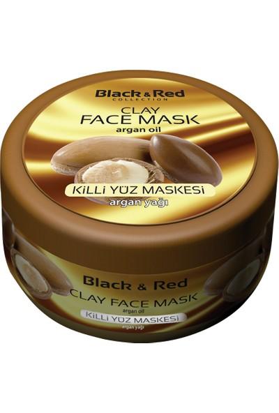 Black & Red Kil Yüz Maskesi Argan Yağlı 400GR