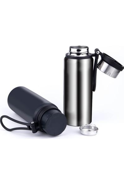 Daphnela Paslanmaz Çelik Yalıtımlı 650ML Termos Çay Filtreli