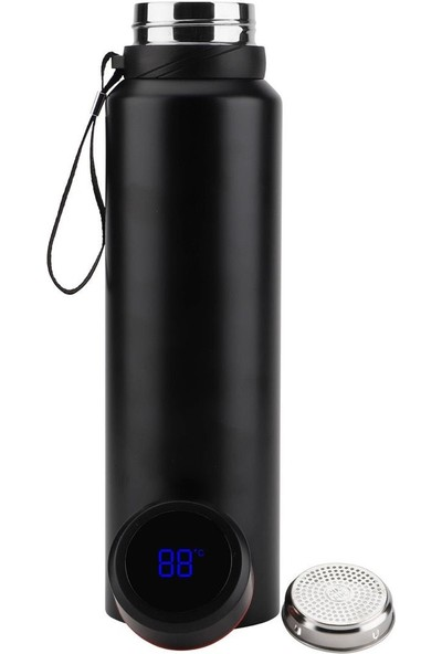 Daphnela LED Sıcaklık Göstergeli Akıllı Vakumlu Yalıtımlı Termos 1500ML