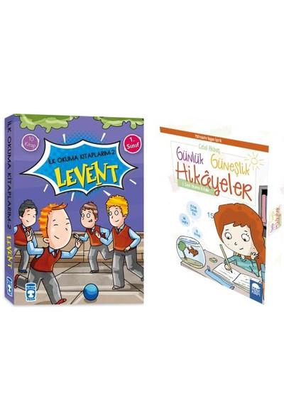 1. Sınıf Ilk Okuma Yayınları Seti / Levent Ilk Okuma Kitaplarım - Günlük Güneşlik Hikayeler