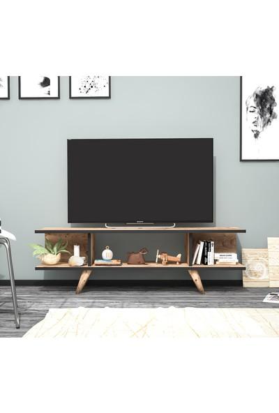 Ankara Mobilya Eko Atlantik Çam 120 cm Tv Sehpası