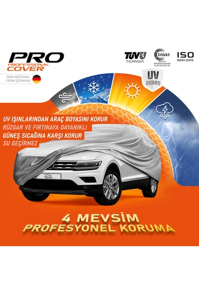 Pk Pandakılıf Ford Kuga Uyumlu Profesyonel Premium Oto Branda - 4 Mevsim Koruma