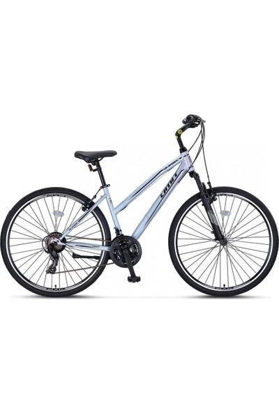 Ümit Bisiklet Ümit 2892 Quebec L Bayan Şehir Bisikleti 430H V 28 Jant 21 Vites Gri Siyah