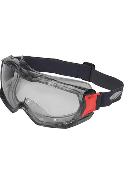 Swissone Iş Gözlüğü Şeffaf Gri Yarı Saydam Pvc