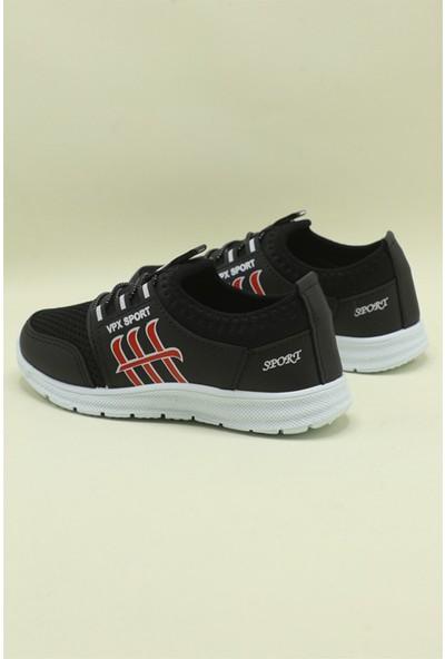 Bolimex Günlük Rahat Siyah Çocuk Spor Ayakkabı 3370
