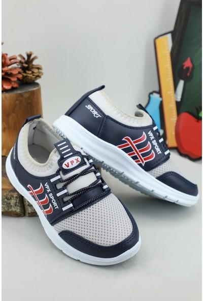 Bolimex Günlük Nefes Alır Laci Gri Çocuk Spor Ayakkabı 3370