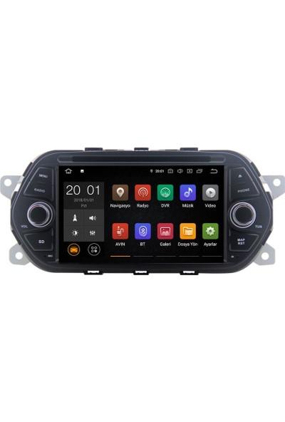 """Navimex NAV-7711 Hd Fıat Egea 7"""" 2gb Ram 16GB Hafıza Android 10.0 Mtk Carplay Auto"""