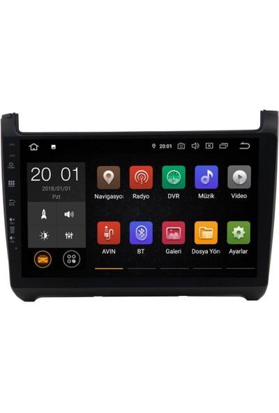 Navimex NAV-9998 Hd Wolkswagen Polo New New 4+64GB Hafıza Px5 Android 10.0 Carplay Auto