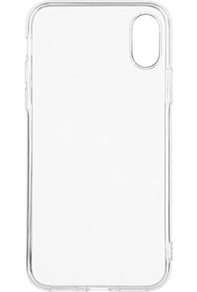 Aksesuarfırsatı Samsung Galaxy S21 Ultra Şeffaf Silikon Telefon Kılıfı