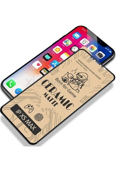 Aksesuarfırsatı Samsung Galaxy A21S Mat Ceramic Ekran Koruyucu