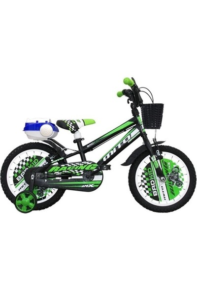 Ümit Bisiklet Ümit Badkid 16 Jant Çocuk Bisikleti 3-4-5-6-7-8 Yaş Çocuk Bisikleti Yeşil