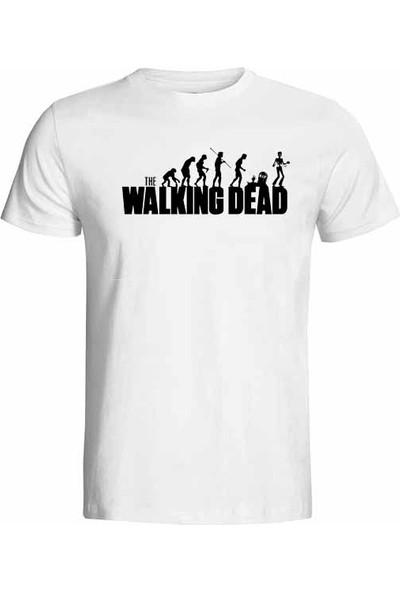 Hediye Panayırı The Walkıng Dead Baskılı Hediye Kadın Tişört Model2