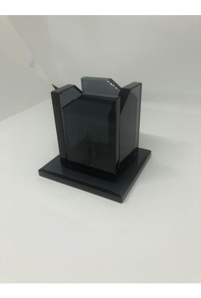 Gündoğan Kristal Cam Kristal Kalemlik 10 x 10 cm