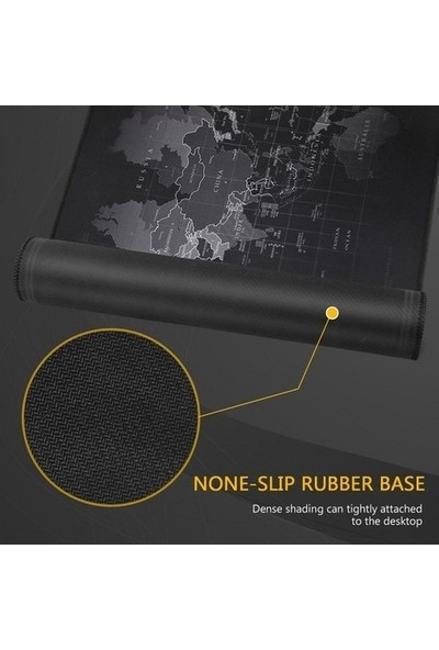 Cyber Manzara Desenli Işıklı Rgb 78X30 Kaymaz Ledli Mouse Pad
