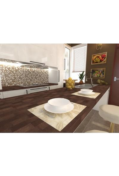 Promasif Ahşap Mutfak Tezgahı