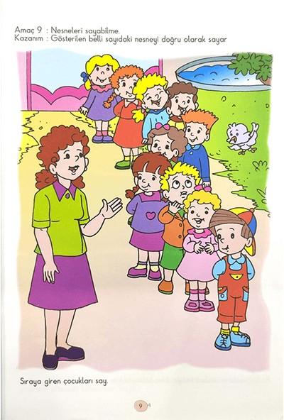 Duru Okul Öncesi Yayınları 4-6 Yaş Okul Öncesinde Matematik Kitabı