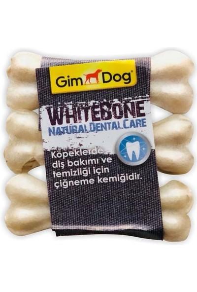 Gimdog Mordimi Ağız ve Diş Sağlığı Için Sütlü Köpek Çiğneme Kemiği Üçlü 60 gr