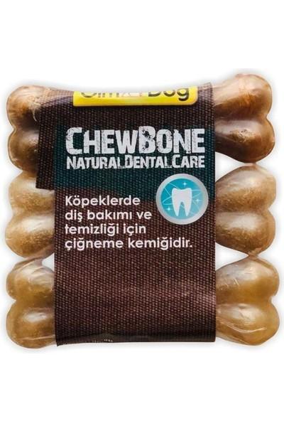 Gimdog Mordimi Ağız ve Diş Sağlığı Için Naturel Köpek Çiğneme Kemiği Üçlü 60 gr