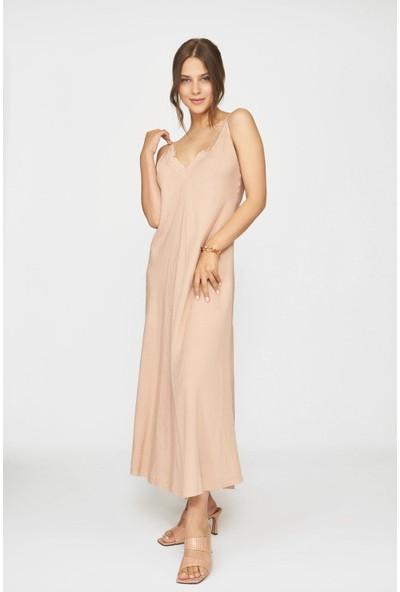 Batik Yazlık Kolsuz Elbise