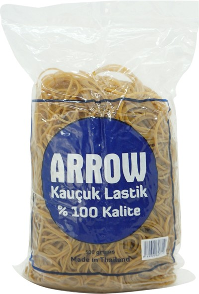 Arrow Naturel Standart Paket Lastiği 8 cm 500 gr