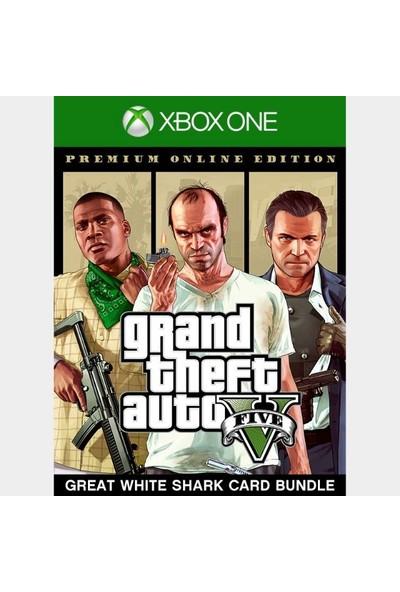 Grand Theft Auto V: Premium Edition & Great White Shark Card Bundle Xbox One Series X|S