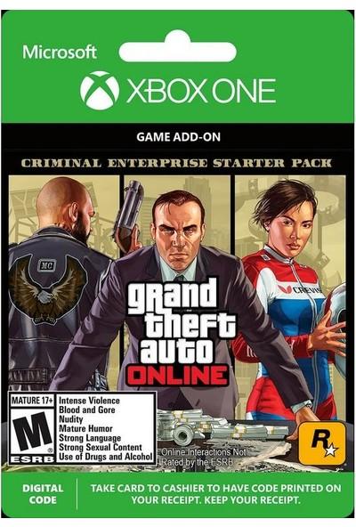 Gta Online: Criminal Enterprise Starter Pack Xbox One Series X|S