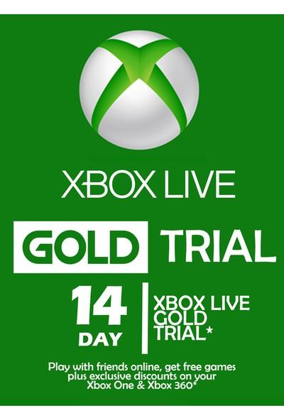 Xbox Lıve Gold Trial 14 Gün Üyelik Kodu (Global Code)