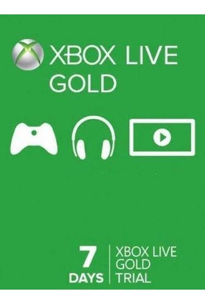 Xbox Lıve Gold Trial 7 Gün Üyelik Kodu (Global Code)