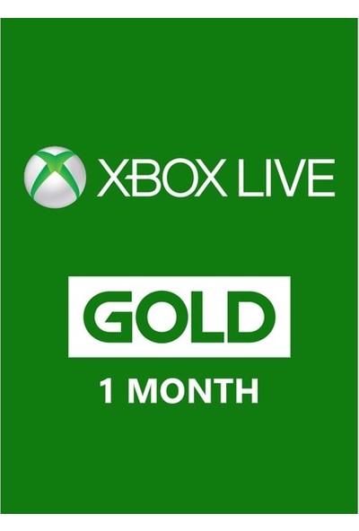 Xbox Lıve Gold 1 Ay Üyelik Kodu (Global Code)