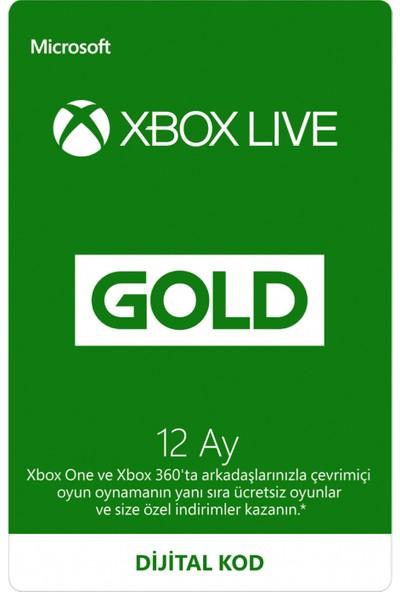 Xbox Lıve Gold 12 Ay Üyelik Kodu (Global Code)
