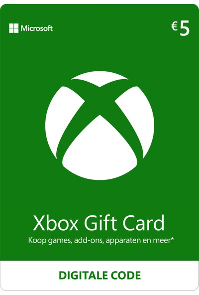 Xbox Live Gift Card 5 EUR (DE) Germany