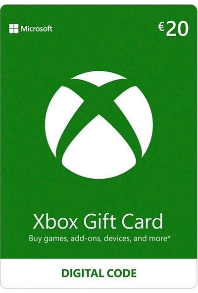 Xbox Live Gift Card 20 Eur (DE) Germany