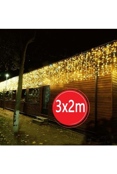 Sunlight 3X2M Sarkıt Perde LED Aydınlatma Tek Modlu Gün Işığı 220V