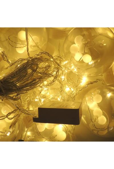 Sunlight Globe Sarkıt 10'lu Set Ledli Aydınlatma 3m 8 Mod Gün Işığı