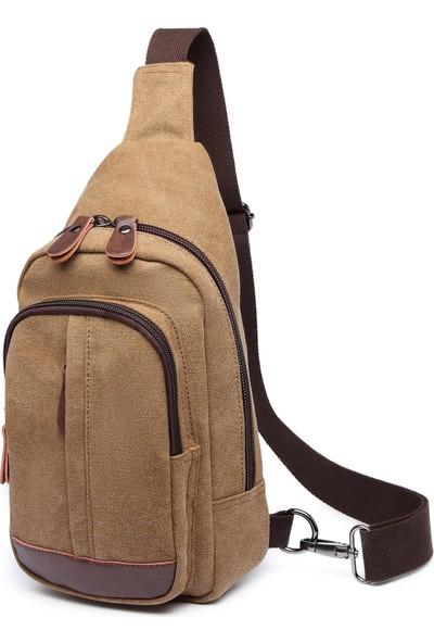 CTVYB1284-0007 Açık Kahverengi Unisex Body Bag