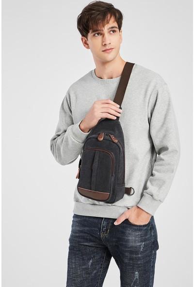 CTVYB1284-0029 Koyu Yeşil Unisex Body Bag