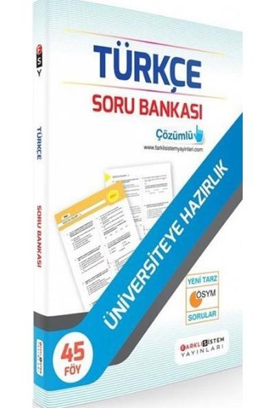Farklı Sistem Yayınları Farklı Sistem TYT Türkçe Soru Bankası