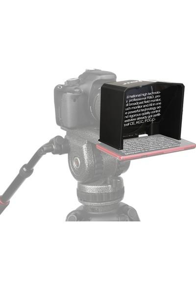 Best View Bestview T1 Taşınabilir Cep Telefonu Teleprompter Prompter (Yurt Dışı)