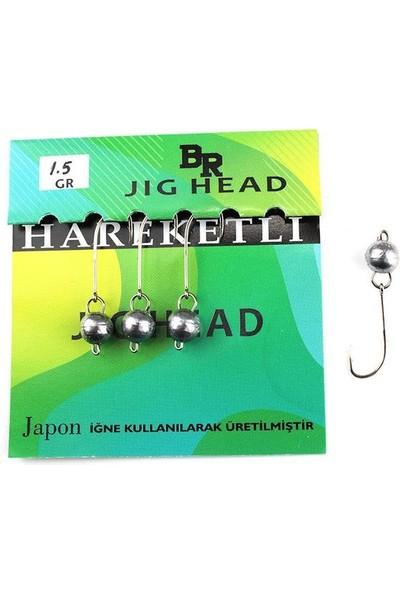 Bera Jig Head Hareketli 1,5 gr 4 Lü Paket
